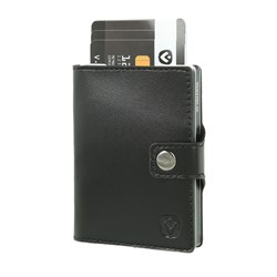 "Bild von Card Case Pocket Wallet ""black/silver"""