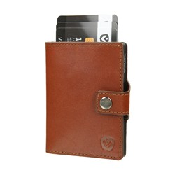 "Bild von Card Case Pocket Wallet ""Cognac"""
