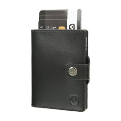 "Bild von Card Case Pocket Wallet ""black/black"""