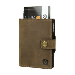 "Bild von Card Case Pocket Wallet ""Vintage brown"""