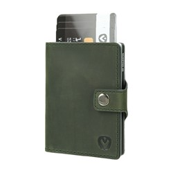 "Bild von Card Case Pocket Wallet ""Vintage green"""